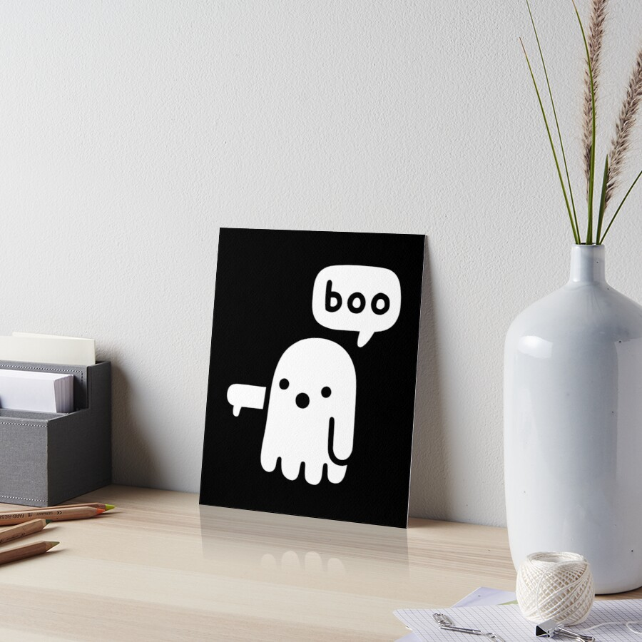Ghost Of Disapproval Art Board Print