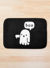 Ghost Of Disapproval Bath Mat
