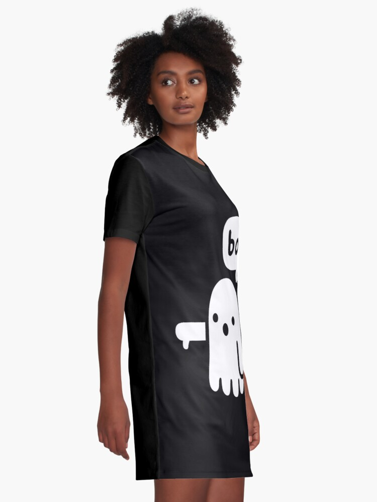 Alternate view of Ghost Of Disapproval Graphic T-Shirt Dress