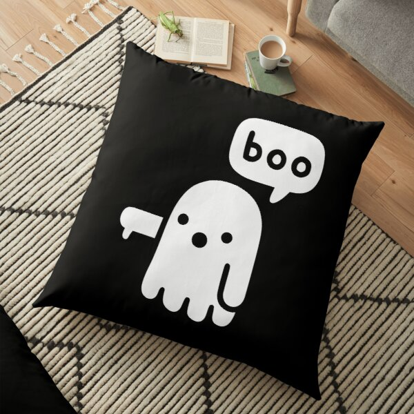 Ghost Of Disapproval Floor Pillow