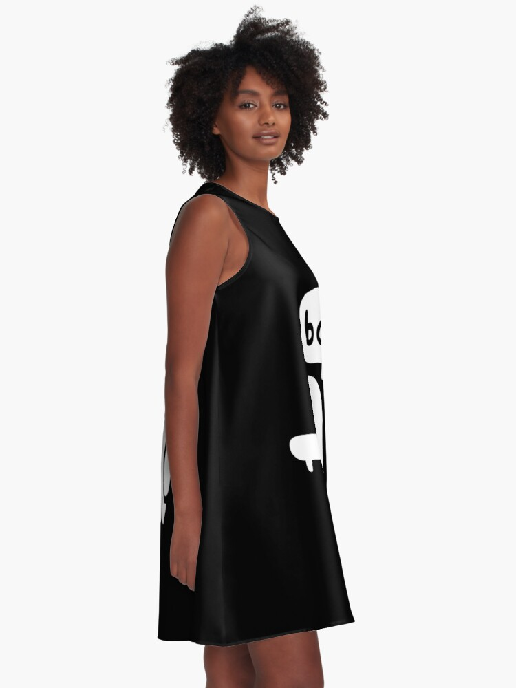 Alternate view of Ghost Of Disapproval A-Line Dress