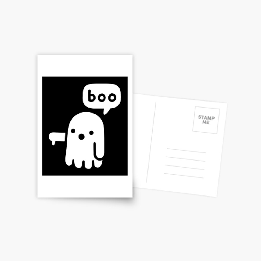 Ghost Of Disapproval Postcard