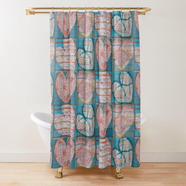 Joy Multiplies Like the Sea Shower Curtain