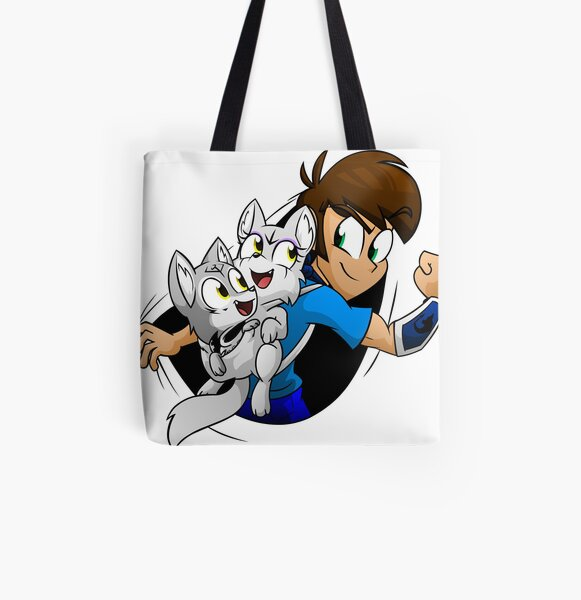 JeffKyler14 With Nuka and Puka All Over Print Tote Bag