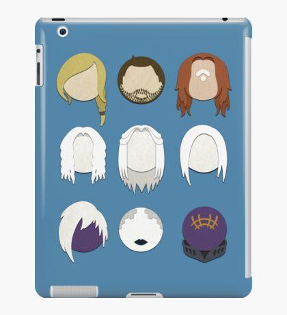Defiance Minimalistic Character Set  iPad Case/Skin