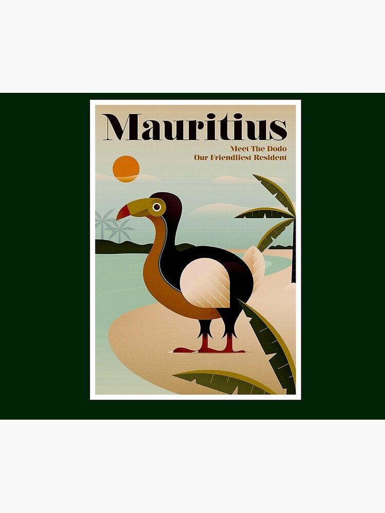 MAURITIUS; Vintage Travel and Tourism Print by posterbobs