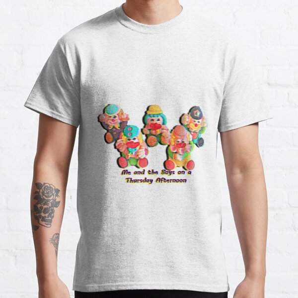 me and the boys on a thursday afternoon Classic T-Shirt