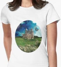 Tranquil Domain Women's Fitted T-Shirt