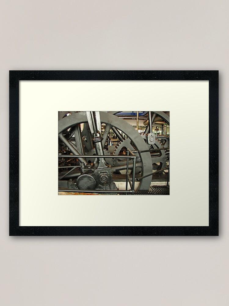Alternate view of SteamPunk, #SteamPunk,  #science #fiction, science #fantasy,  #ScienceFiction, #ScienceFantasy, #anachronistic #technologies, #retro-futuristic  Framed Art Print