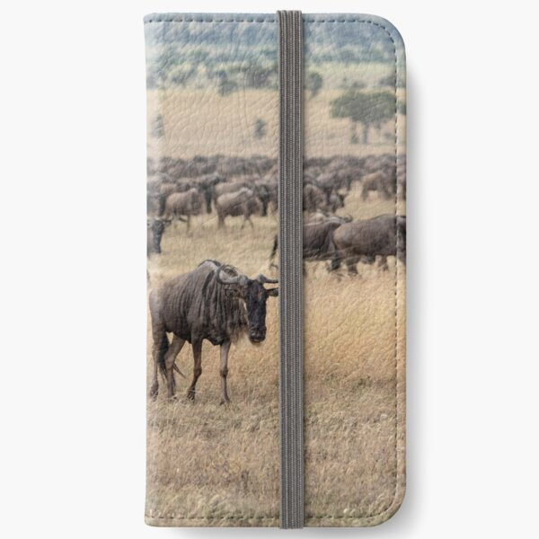 Hitching A Ride With The Great Migration iPhone Wallet