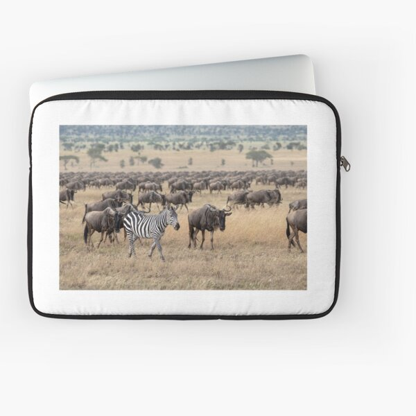 Hitching A Ride With The Great Migration Laptop Sleeve