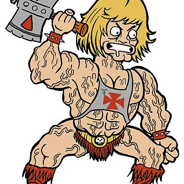 Mini-He-Man by RossRadiation