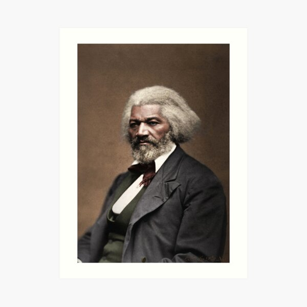 Frederick Douglass 1818-1895 Art Print