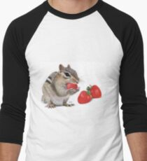 Strawberry Delight Men's Baseball ¾ T-Shirt