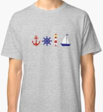 Nautical Illustration  Classic T-Shirt