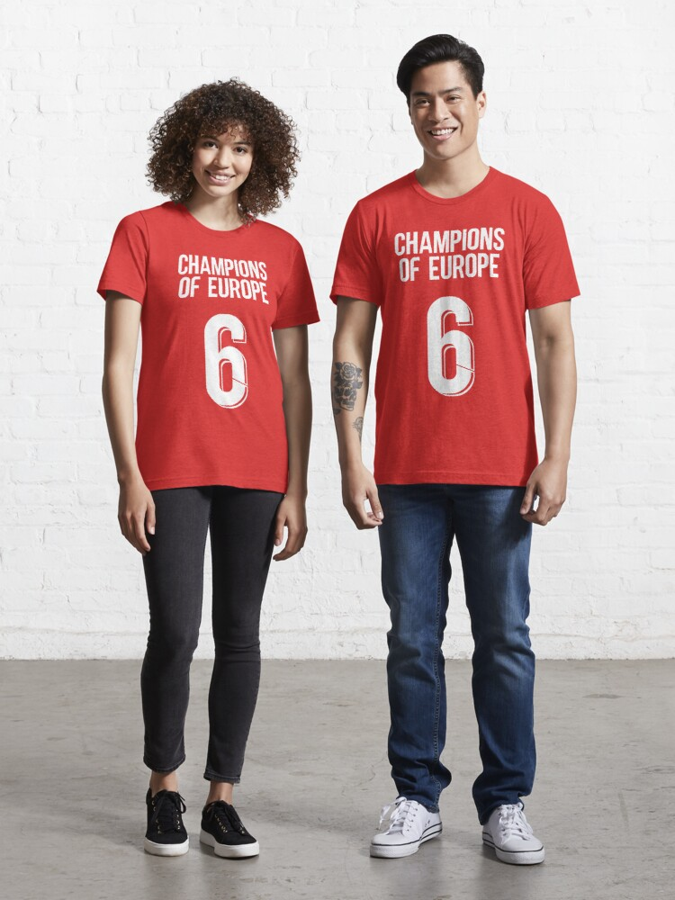 FC Liverpool Champions of Europe T-Shirt