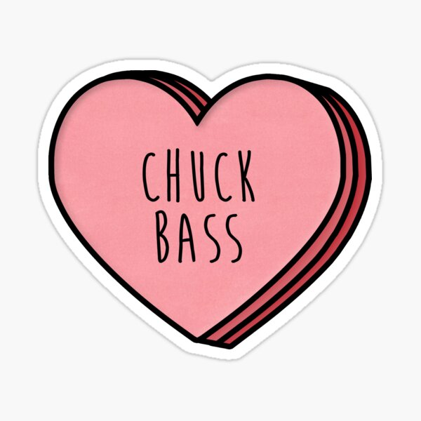 Chuck Bass Heart Sticker
