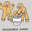 gingerbread bullies by sardonicsalad