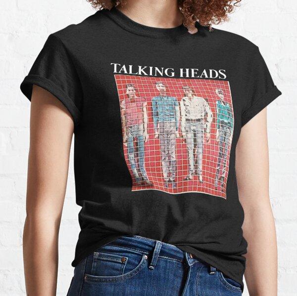 Talking Heads Shirt, Sticker, Hoodie, Poster, Mask Classic T-Shirt