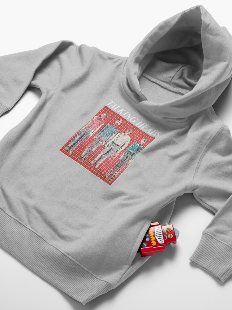 Alternate view of Talking Heads Shirt, Sticker, Hoodie, Poster, Mask Toddler Pullover Hoodie
