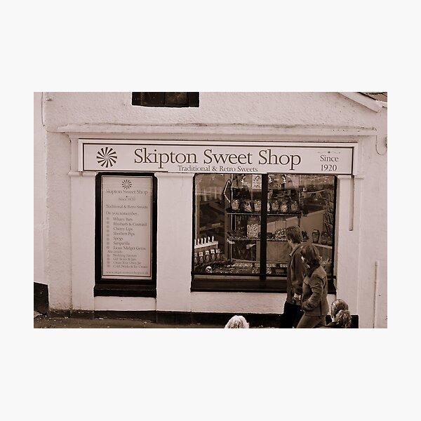 Skipton Sweet Shop Photographic Print