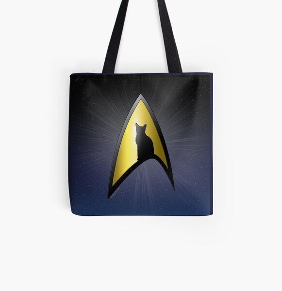 Star Trek Discovery Starfleet Academy Tote Bag
