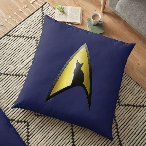 Starfleet Cat Floor Pillow
