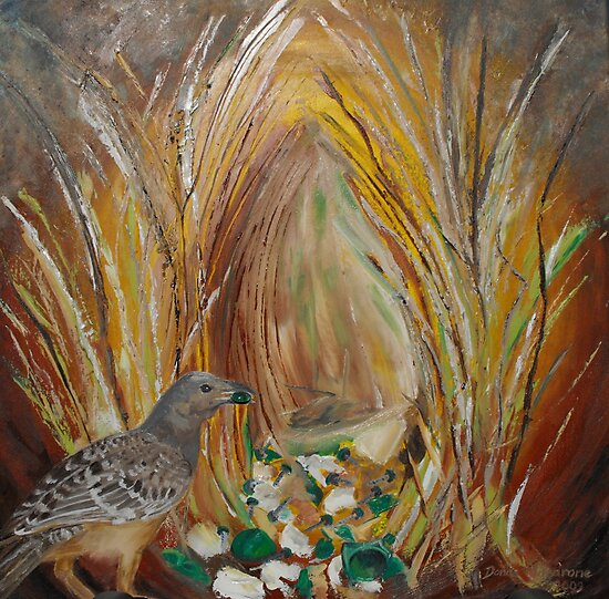 Come and see my Bower by Donna Macarone