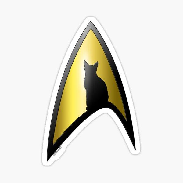 Chat starfleet Sticker
