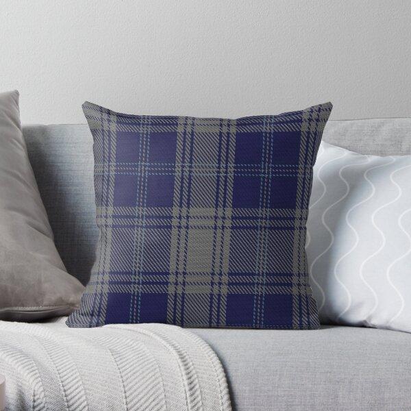 02818 Edwards Clan/Family Tartan  Throw Pillow