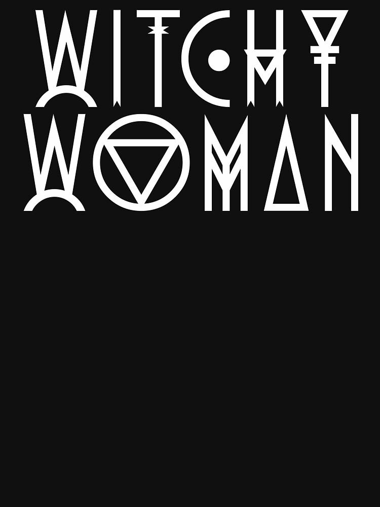 Mujer bruja de wolfandbird