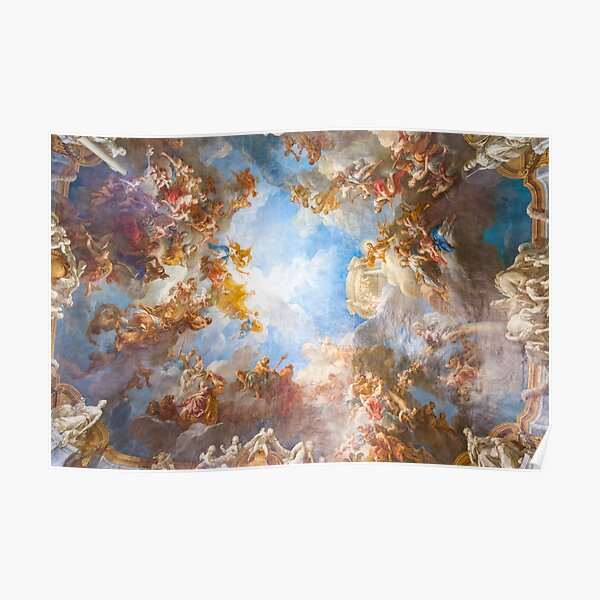 renaissance ceiling art Poster