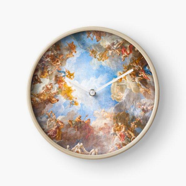 renaissance ceiling art Clock