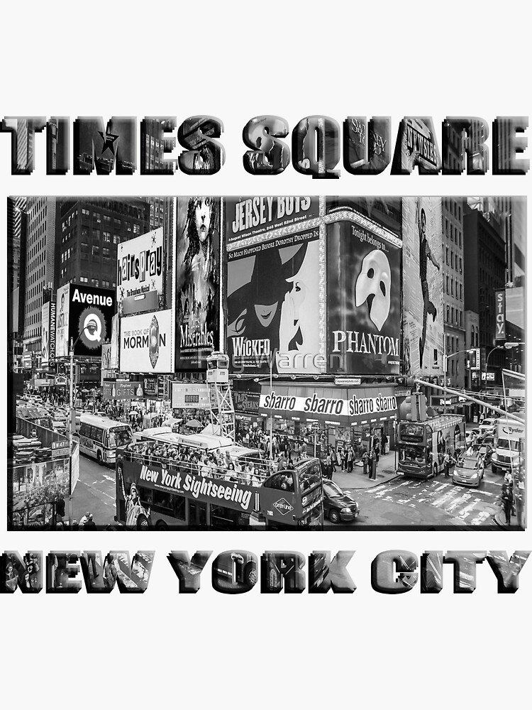 Times Square II Special Edition II (B&W) by RayW