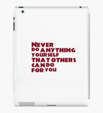 humor all we need iPad Case/Skin