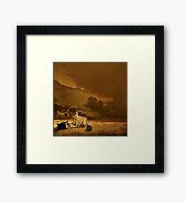 Desolate Landscape - Oregon Framed Print