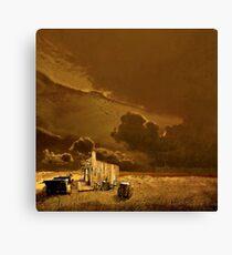 Desolate Landscape - Oregon Canvas Print