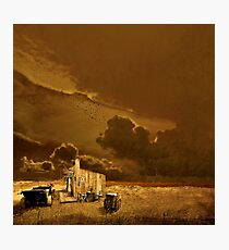 Desolate Landscape - Oregon Photographic Print