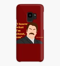 Parks and Rec - Ron Case/Skin for Samsung Galaxy