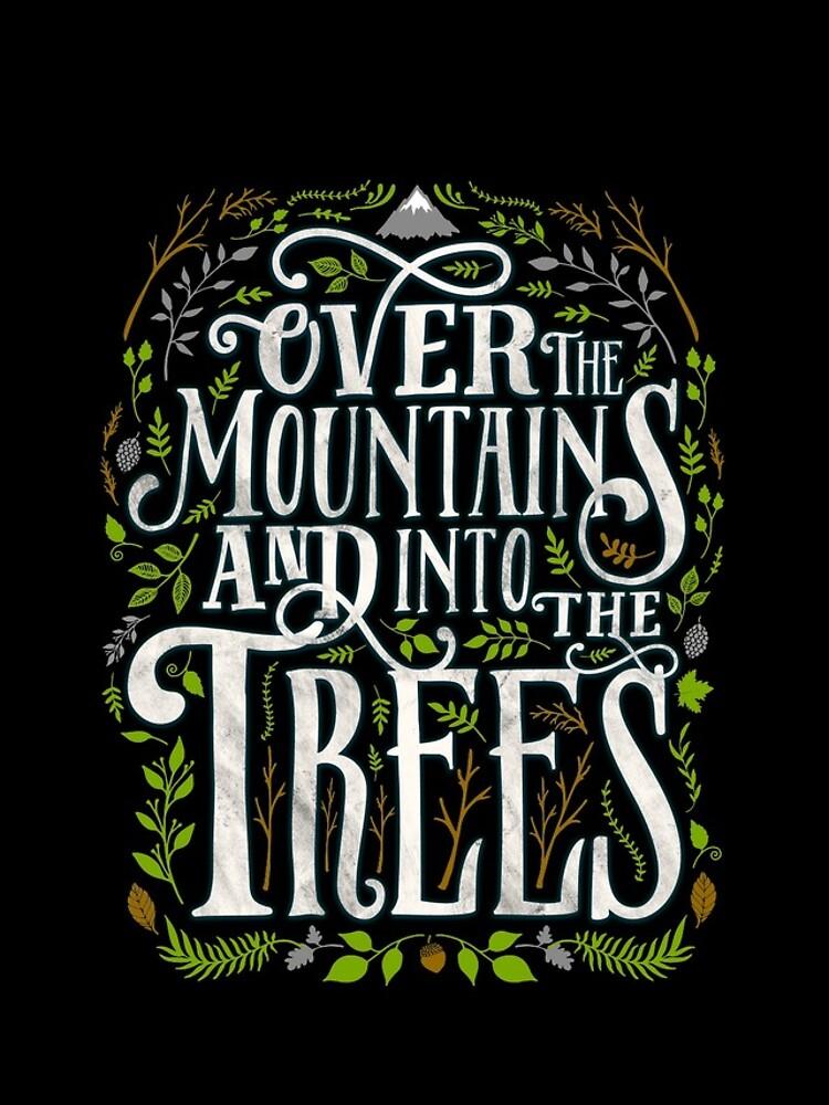 Über die Berge und in die Bäume von wolfandbird