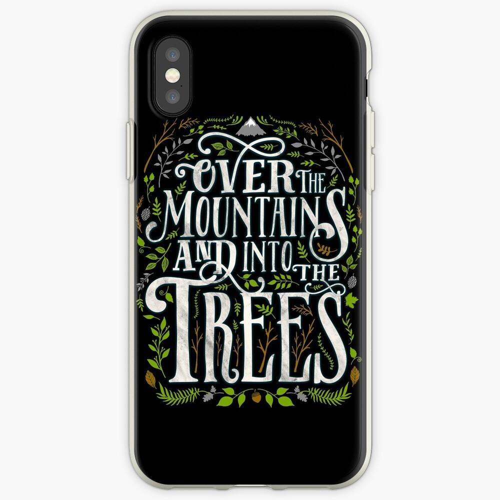 Über die Berge und in die Bäume iPhone-Hülle & Cover