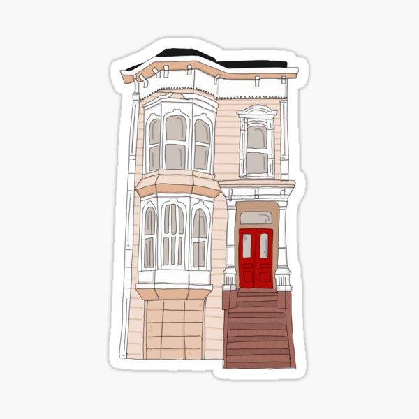 La casa de Tanner Pegatina
