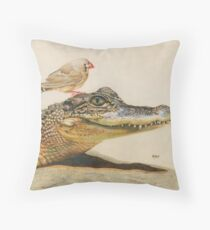 The Intrepid Friendship Throw Pillow