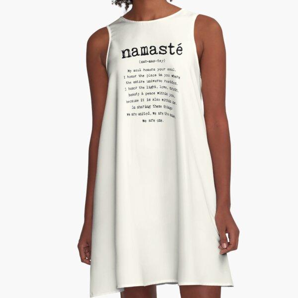 Namaste. A-Line Dress