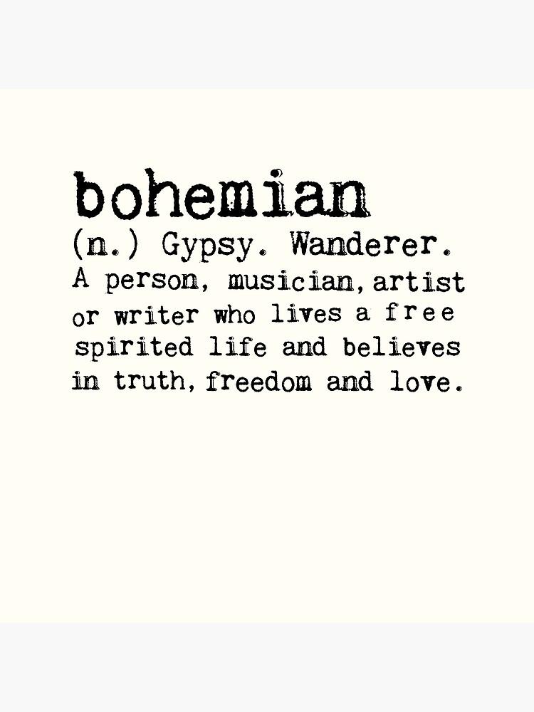 Bohemian by wolfandbird