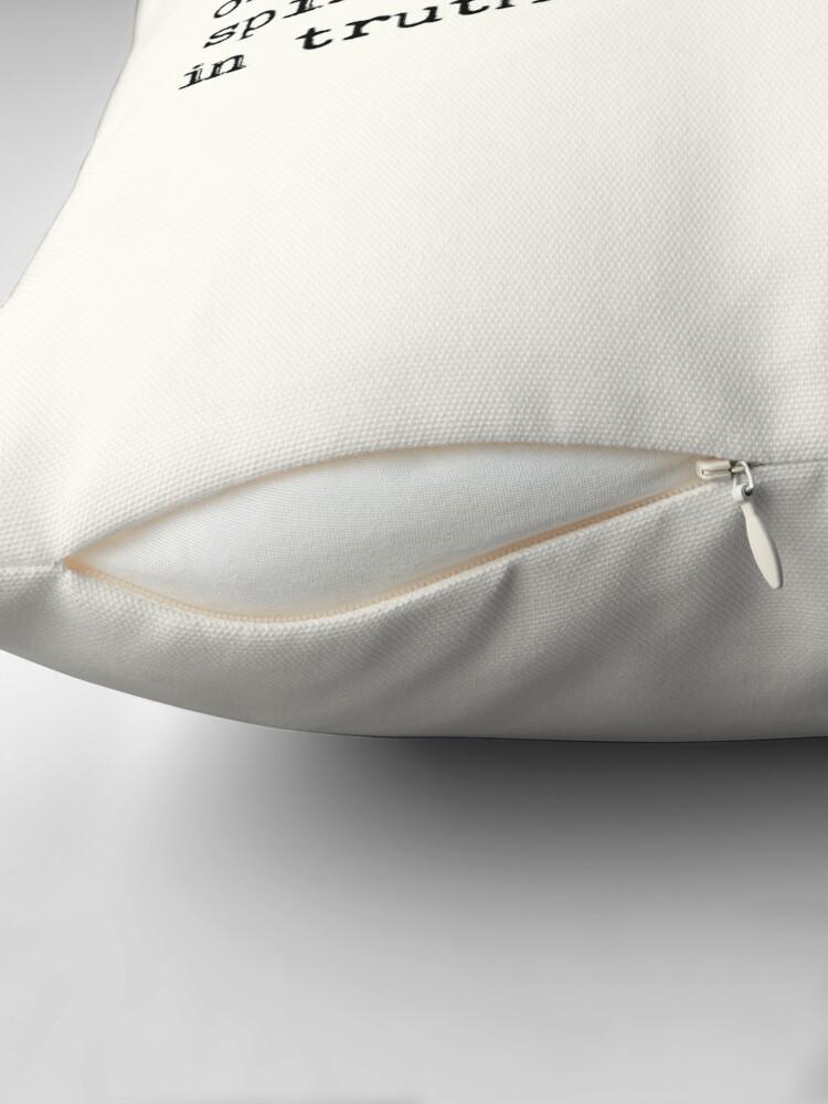 Alternate view of Bohemian Throw Pillow