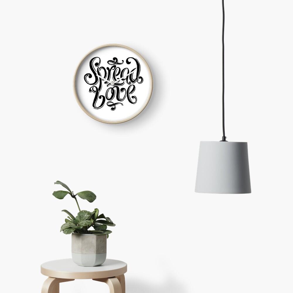Spread Love Clock