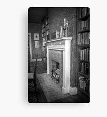 Home Is Where The Hearth Is Canvas Print