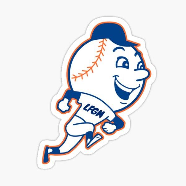 LFGM - Let's F'n Go Mets! Sticker