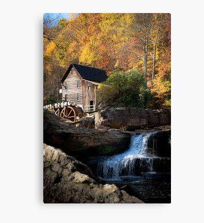 Glade Creek Grist Mill Canvas Print